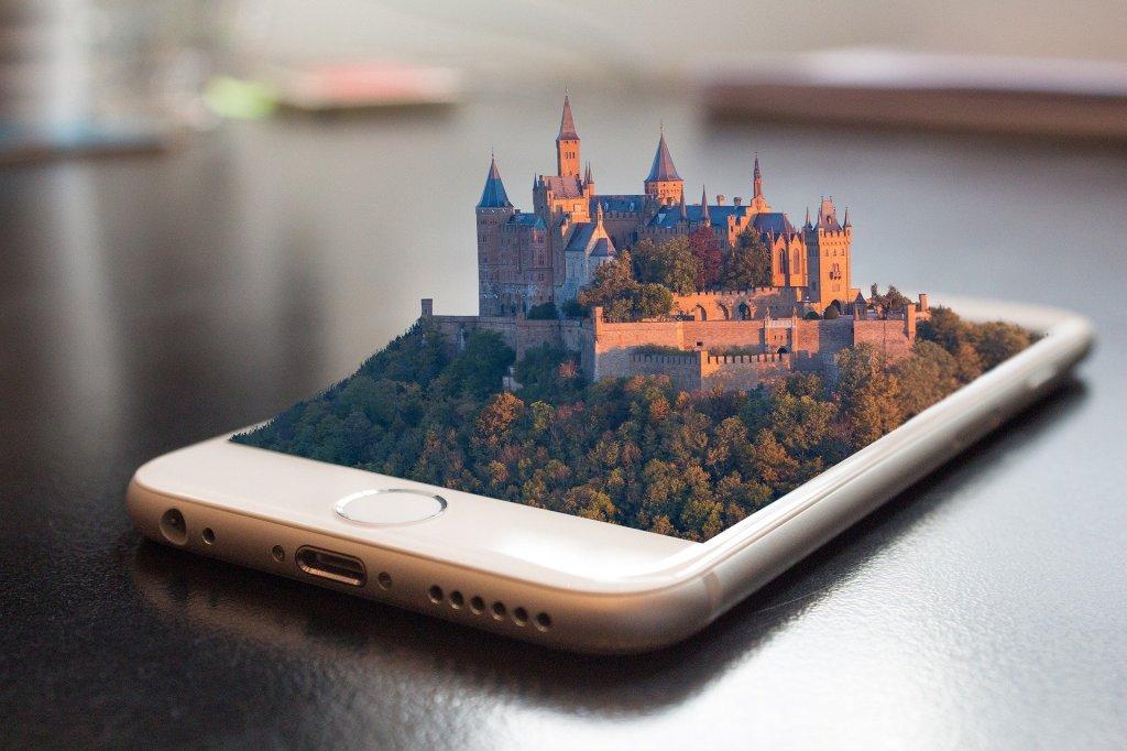 iPhone ancient castle