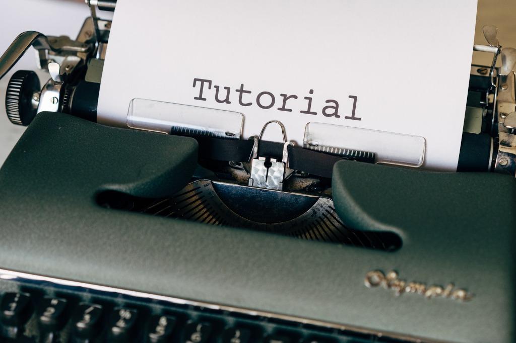 image-of-typewriter-showing-the-word-tutorial