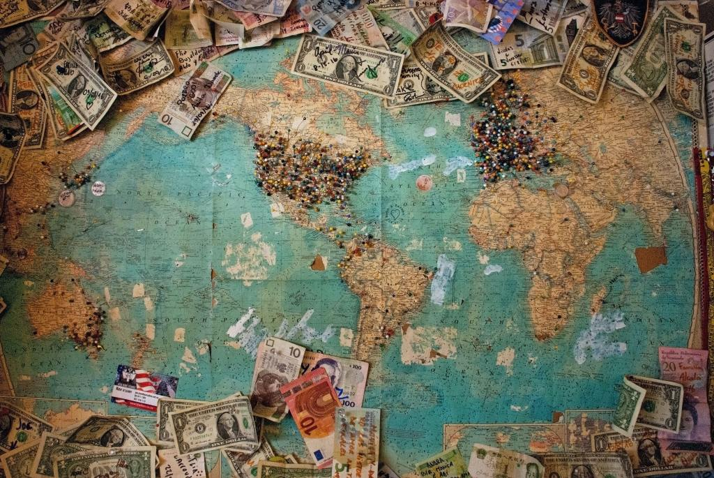 money-and-map