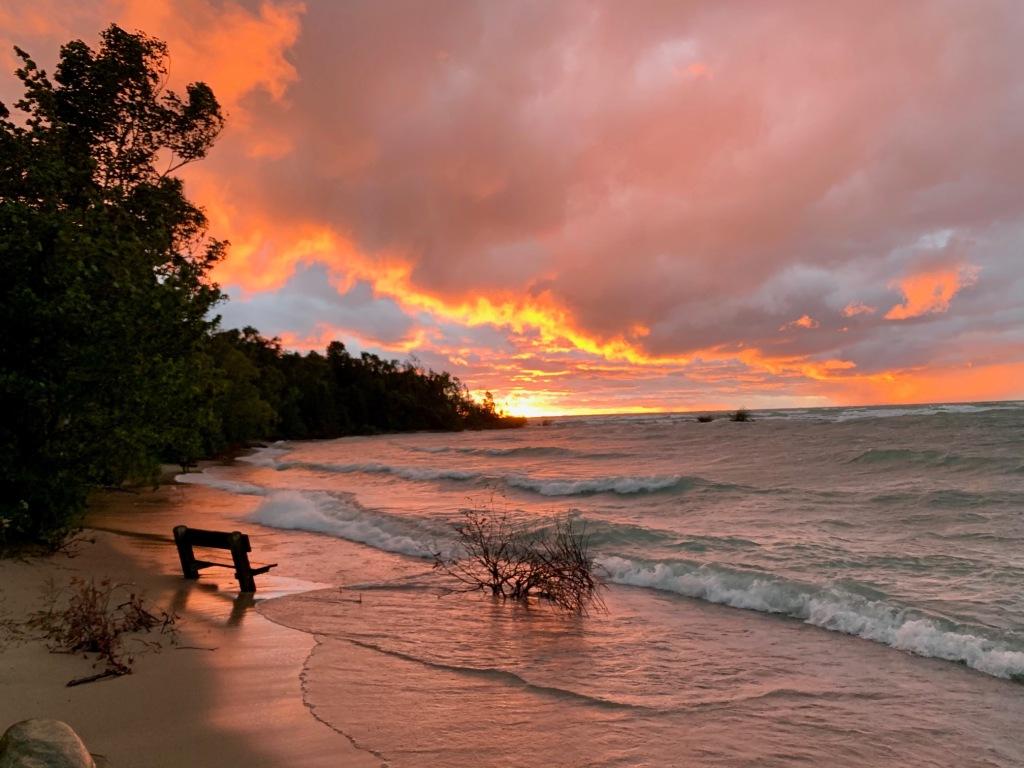 sunset-lake-leelanau-state-park